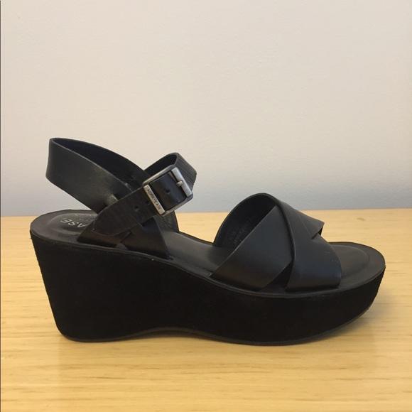 5a88de2145e Kork-Ease Shoes - Kork-Ease Ava Platform Wedge Sandal Black